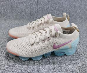 nike air vapormax2 hommes femmes basketball chaussures brown blue